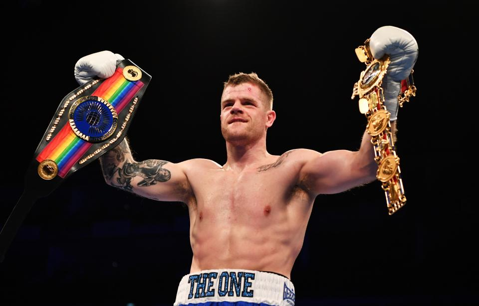 Johnson is the British and Commonwealth light-heavyweight champion