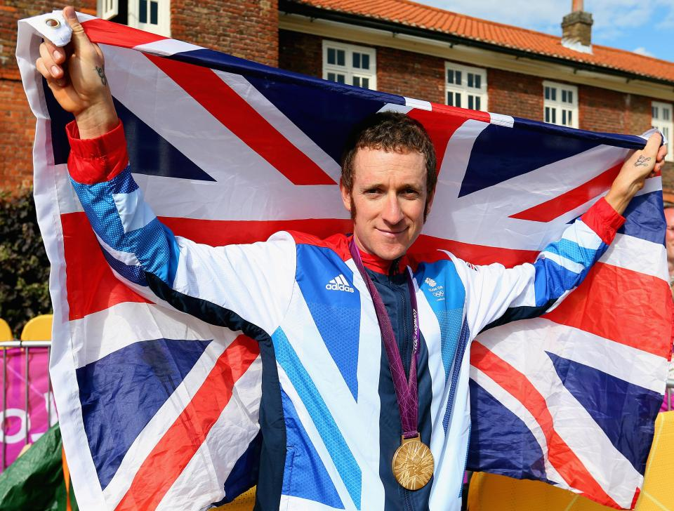 Sir Bradley Wiggins became the first Brit to win the Tour de France in 2012, and won road race gold at the London Olympics just weeks later