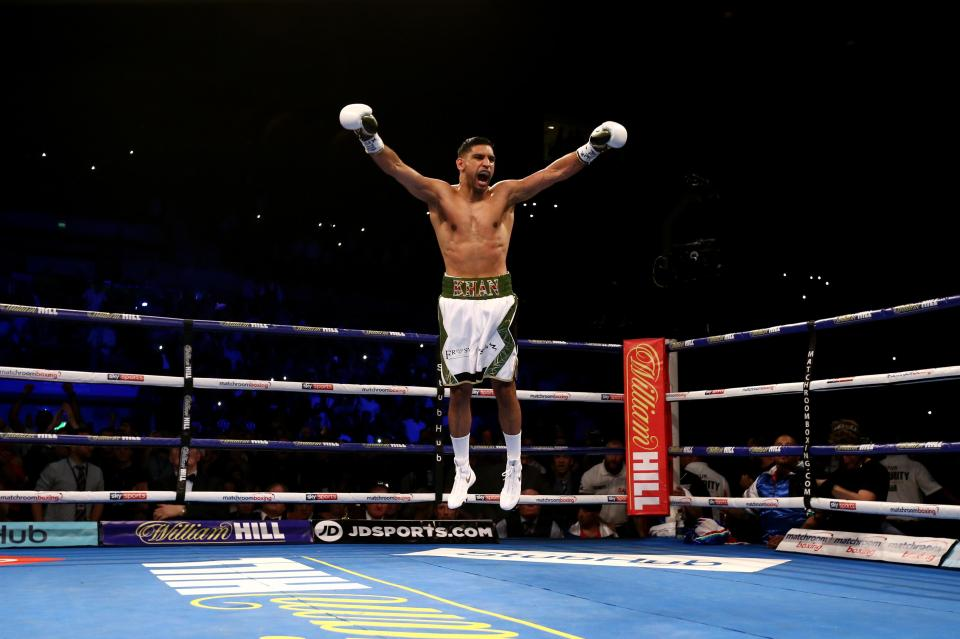 Amir Khan will dare to be great against a pound-for-pound star