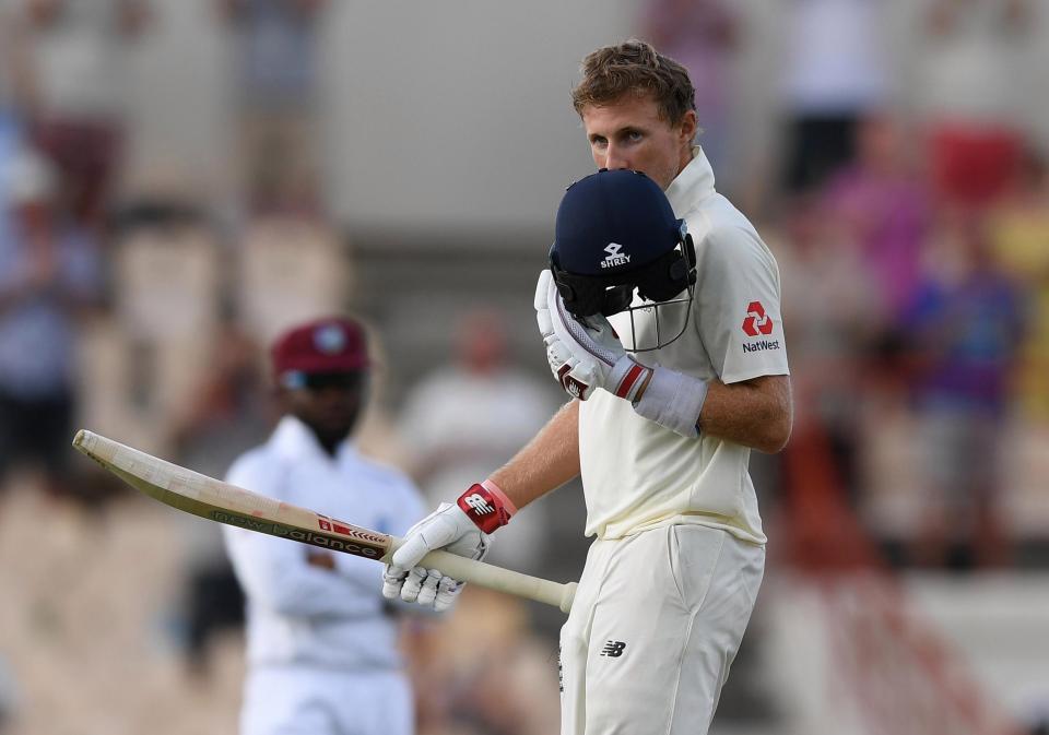 Joe Root scored an unbeaten century for England