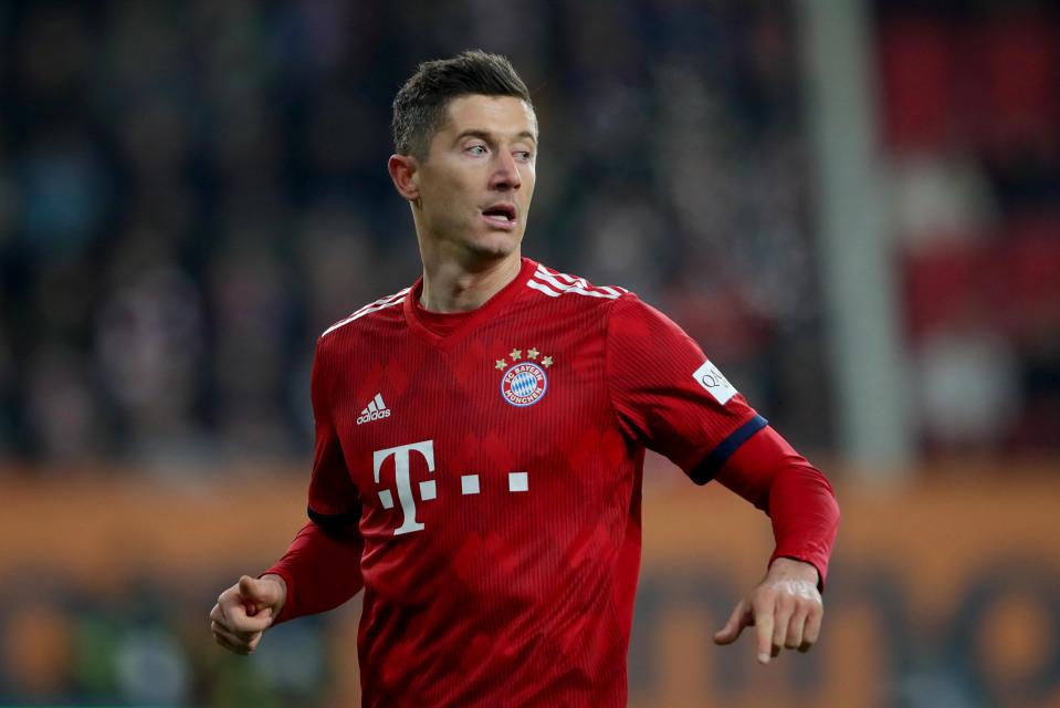 Bayern Munich star Robert Lewandowski is set to feature against Liverpool