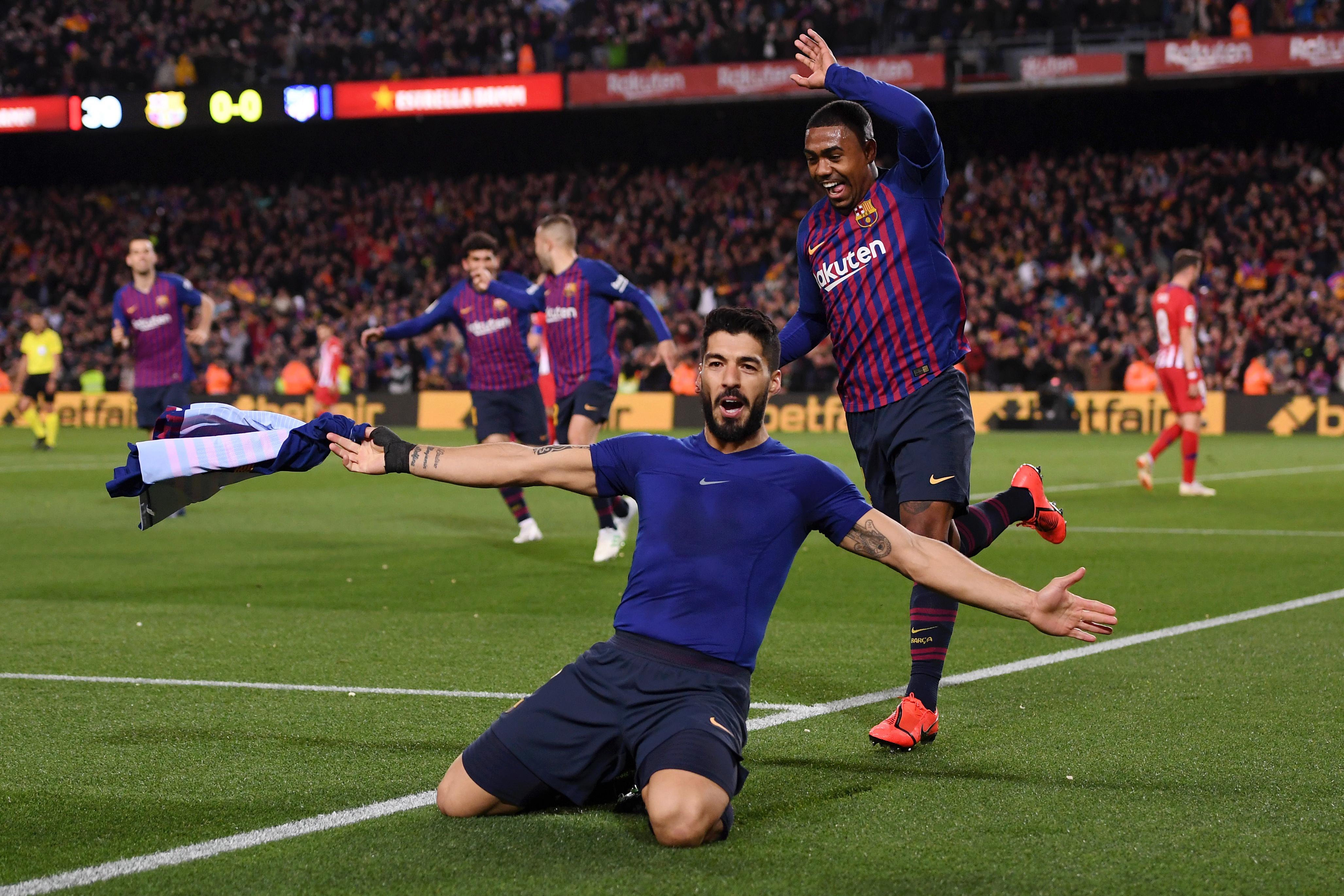 Luis Suarez ultimately got the breakthrough