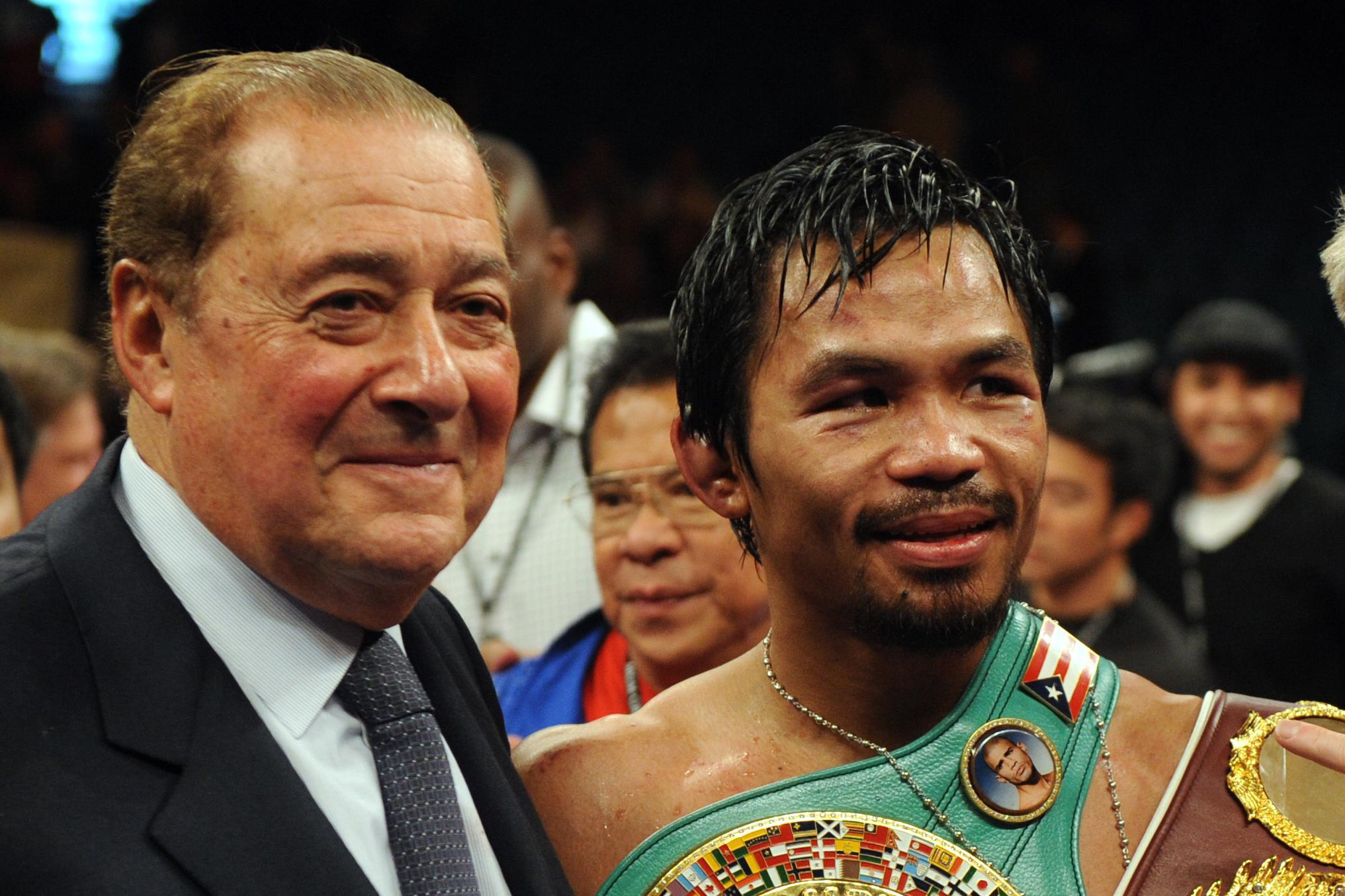 Bob Arum has been in boxing for over 50 years, promoting stars from Muhammad Ali to Manny Pacquiao