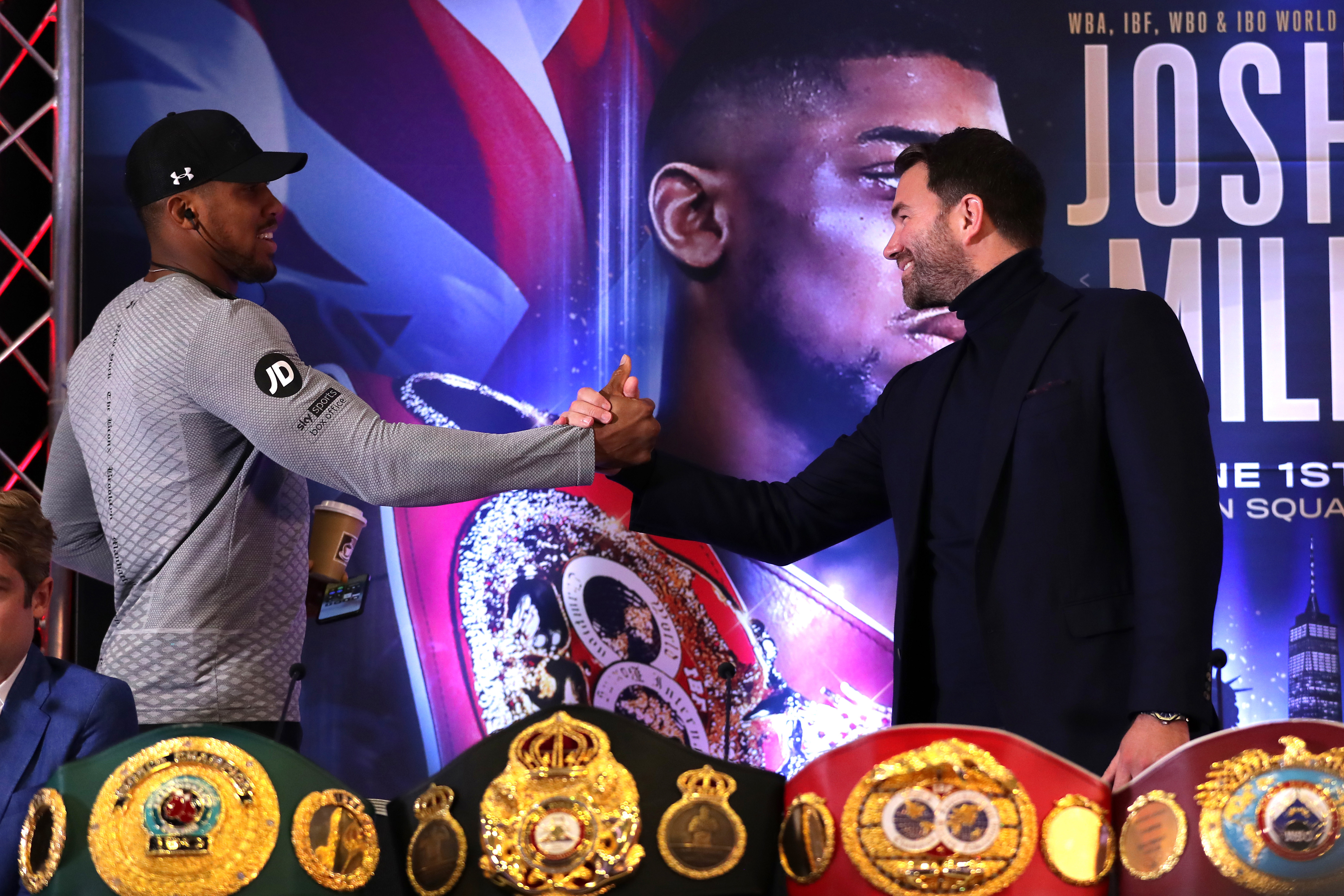 Eddie Hearn promotes Anthony Joshua