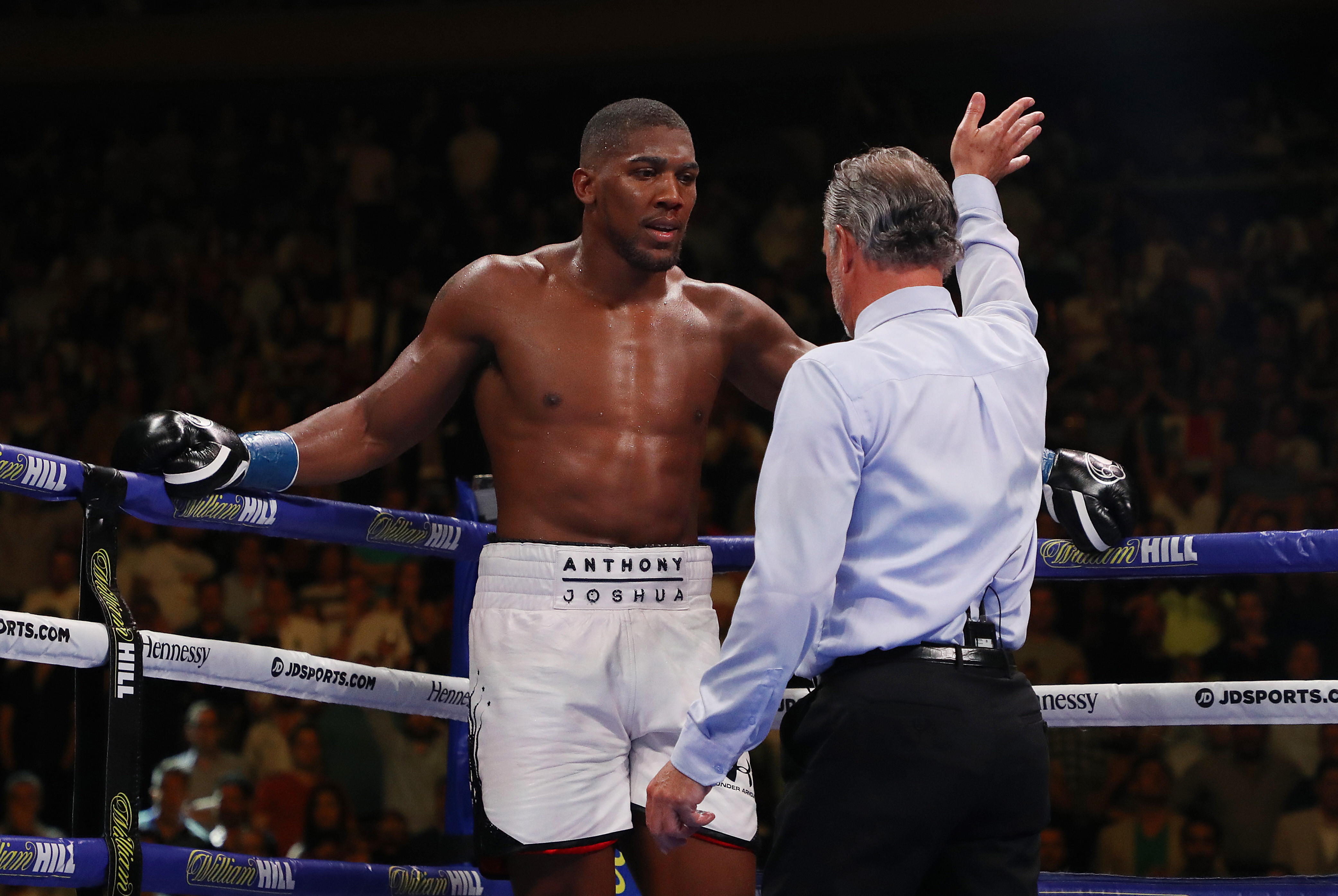 Anthony Joshua was stopped in the seventh round after being battered by Andy Ruiz Jr