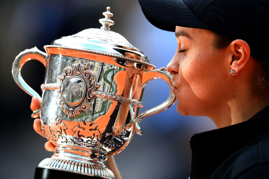 Barty is the 2019 French Open women's singles champion