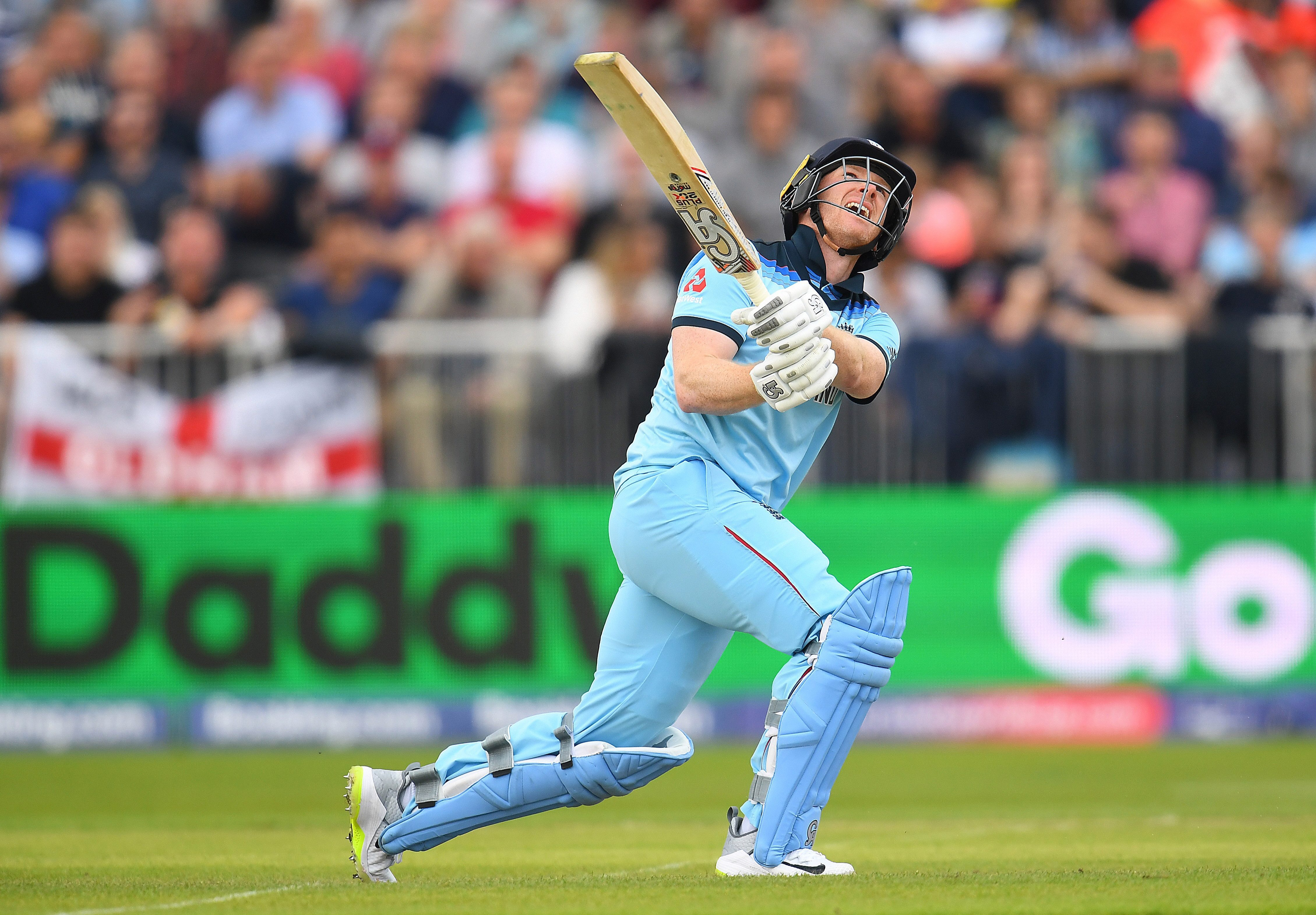 England skipper Eoin Morgan hammered 17 sixes in his 148 off 71 balls against Afghanistan at Old Trafford