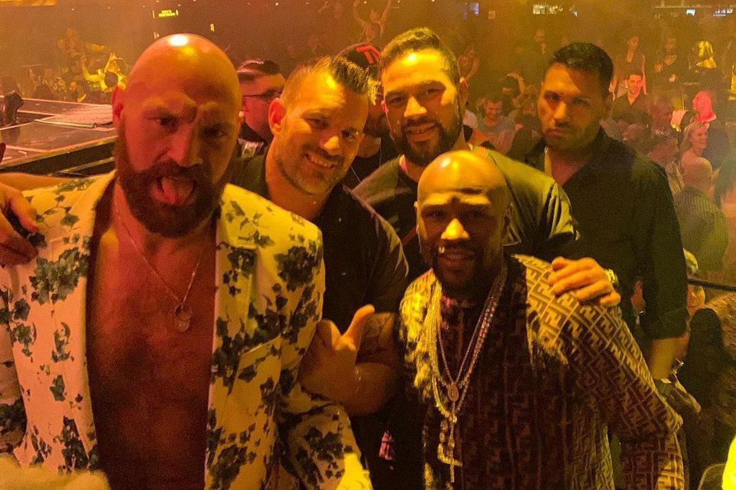 Tyson Fury's living it up in Las Vegas