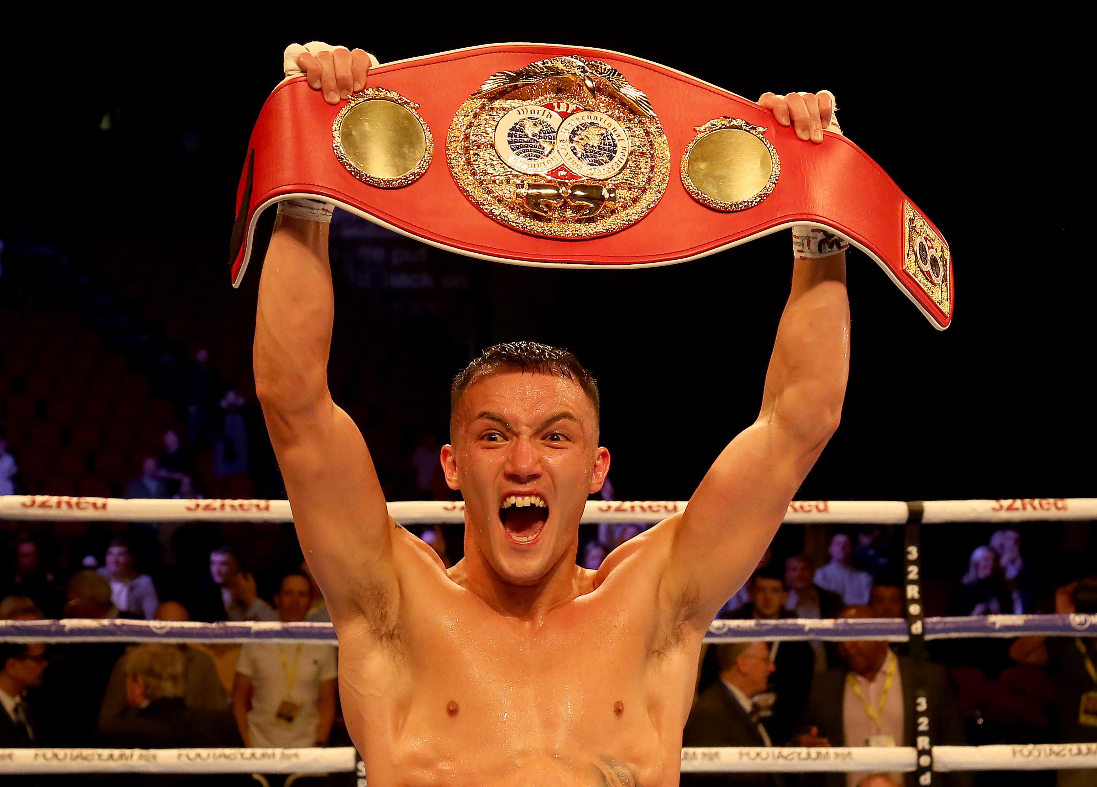 Josh Warrington retained his world title