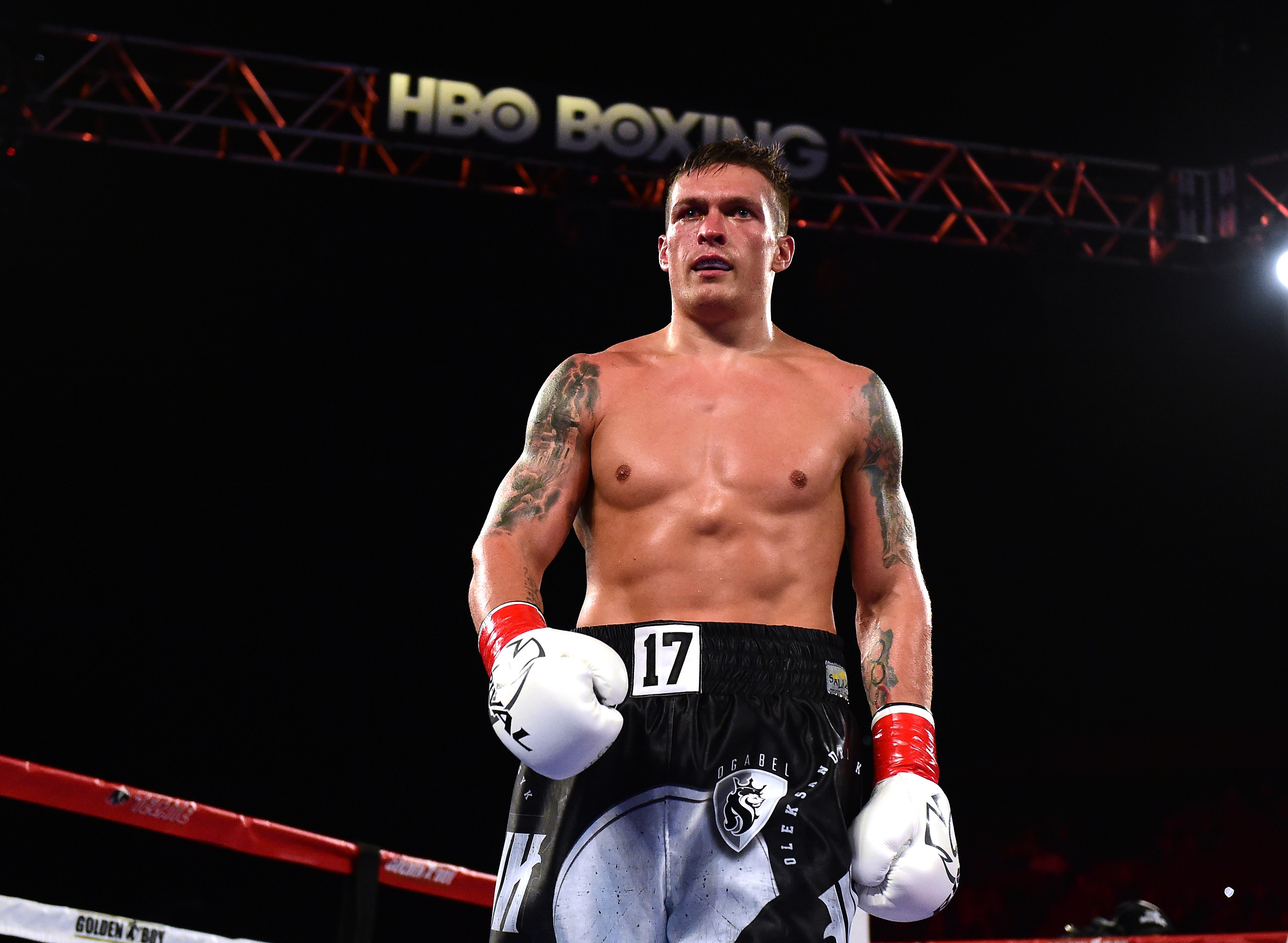 Oleksandr Usyk plans to dominate the heavyweight division