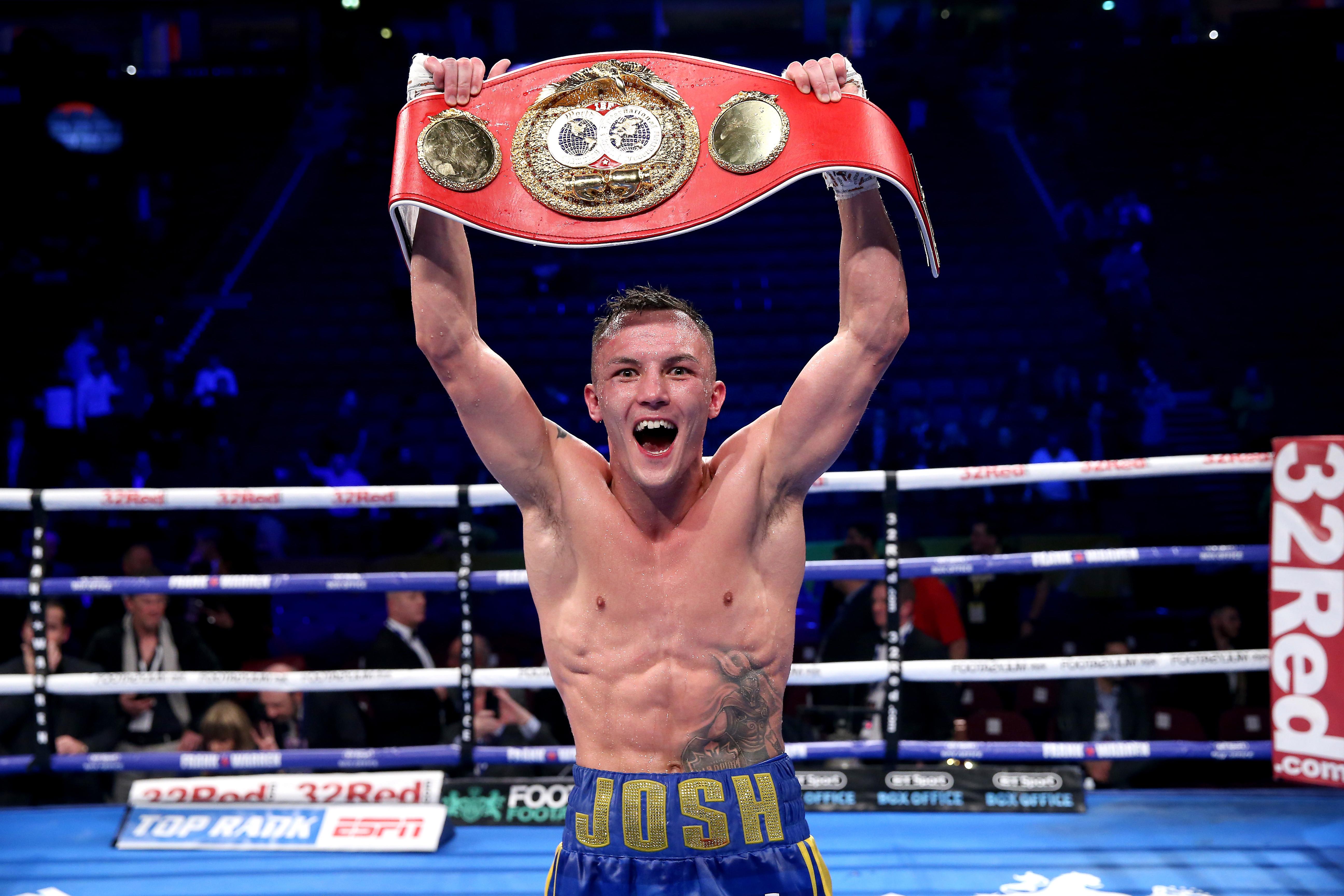 Josh Warrington is the IBF featherweight world champion
