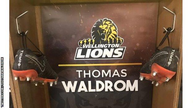Thomas Waldrom hangs up his boots