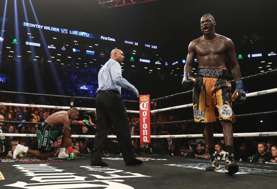Wilder has knocked out every man he has ever faced in the ring