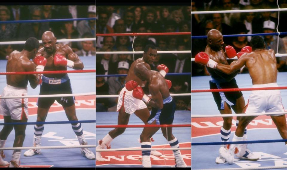 The Hagler v Leonard clash was a battle for the ages, watched by approximately 300 million people around the world