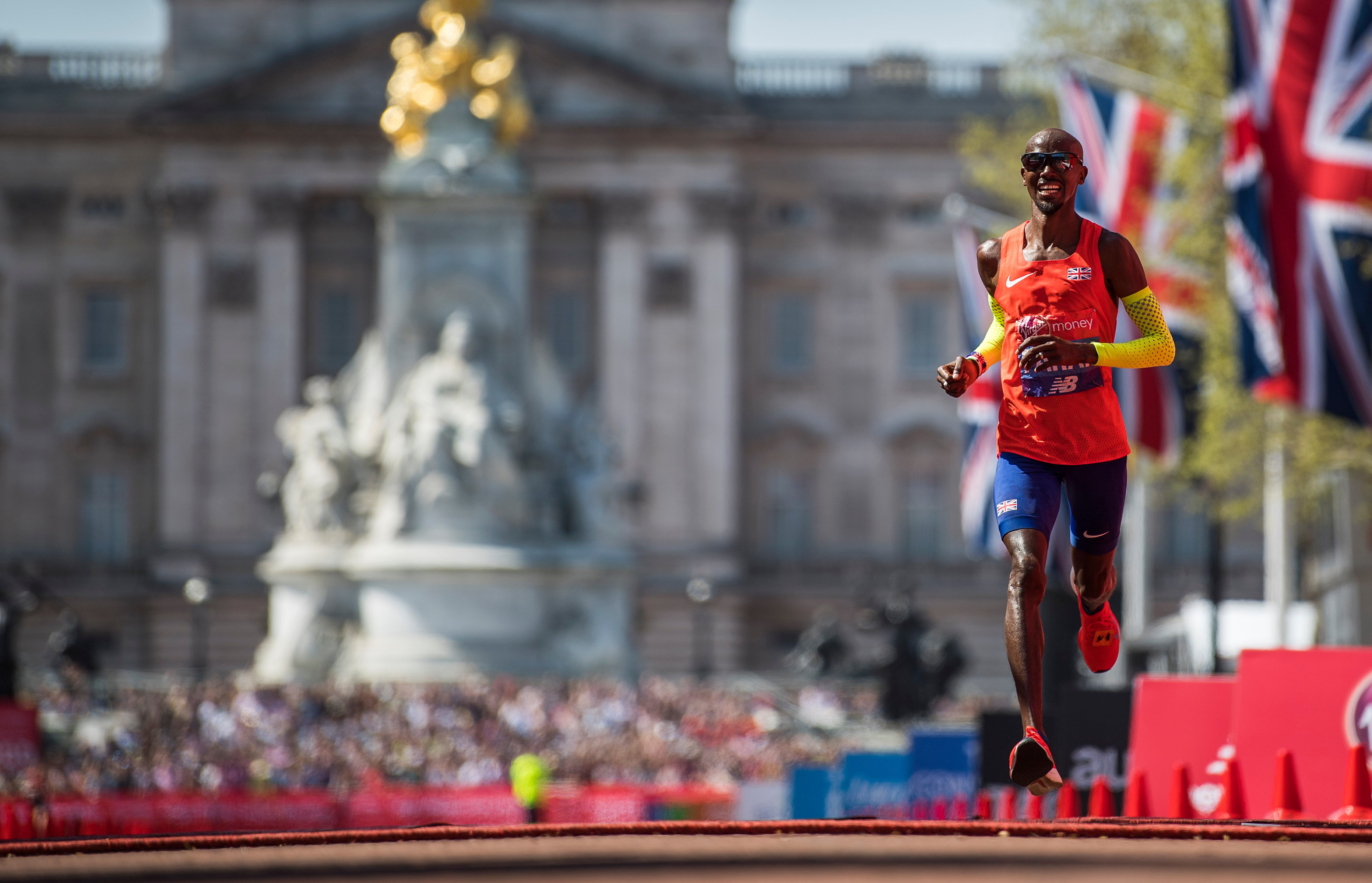 Farah has been competing in marathons but will now return to the track